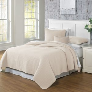 Clare Linen Coverlet and Shams