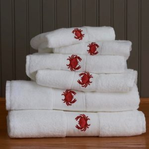 Crab Bath Towels