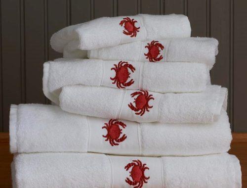 Crab Towel Set