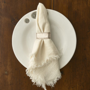 Rustic Linen Ivory Napkin