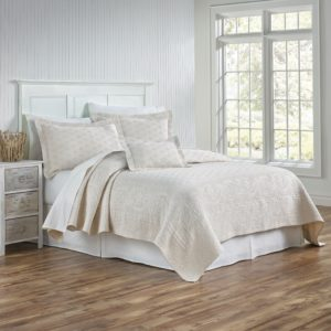 Palmer Linen Coverlet with Shams