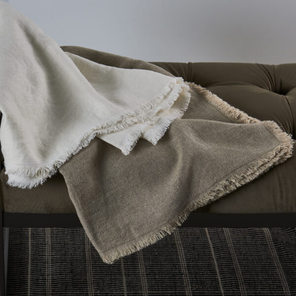 Rustic Linen Throws 2020