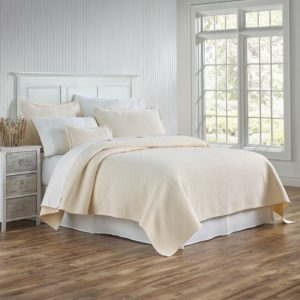 Tracey Cream Coverlet