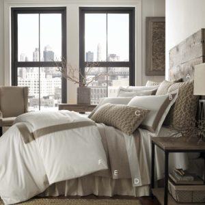 Tupper Linen Bed, profile LETTER