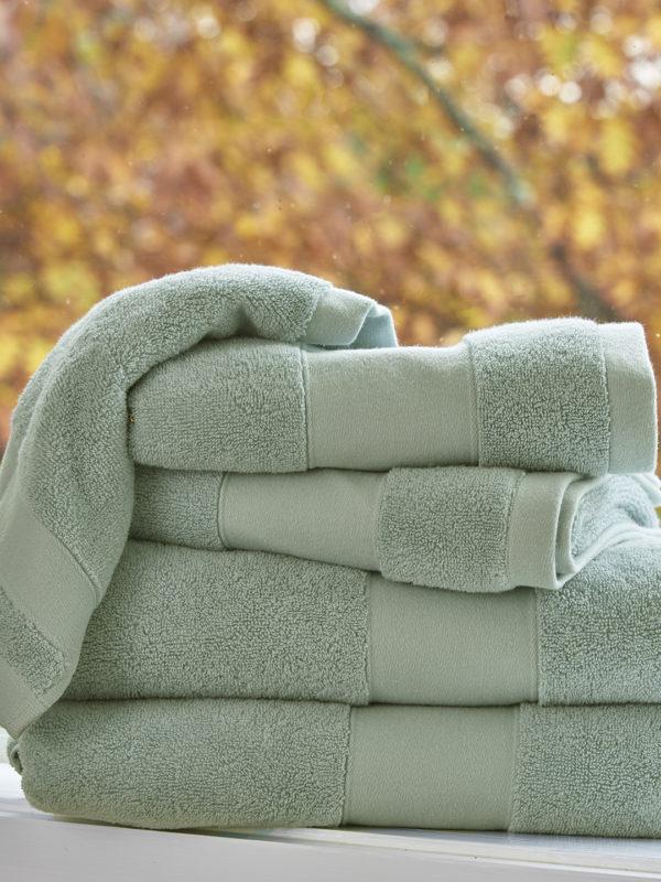 Petra Towels - Spa Blue
