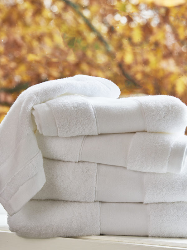 Petra Towels White