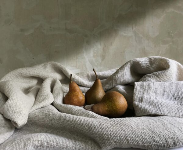 Arlesienne with pears by Pam Voth