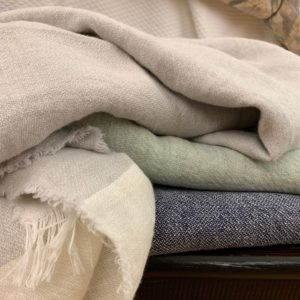 Harlan Linen Throws