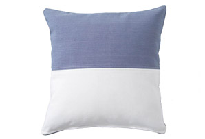 OKL Blue & White Flag Pillow