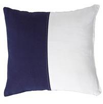 OKL Navy & White Flag Pillow