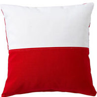 Red & White Flag Pillow