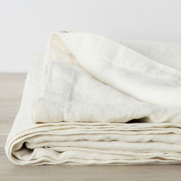 Catalina Blanket Ivory square