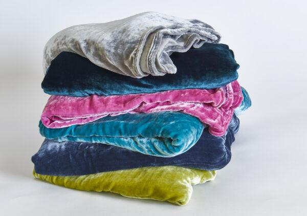 Vintage Velvet Blanket and Throw