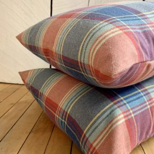 American Plaid Sample Sale Pillow