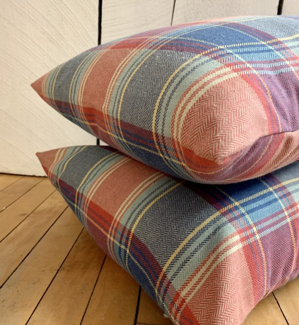 American Plaid Pillows