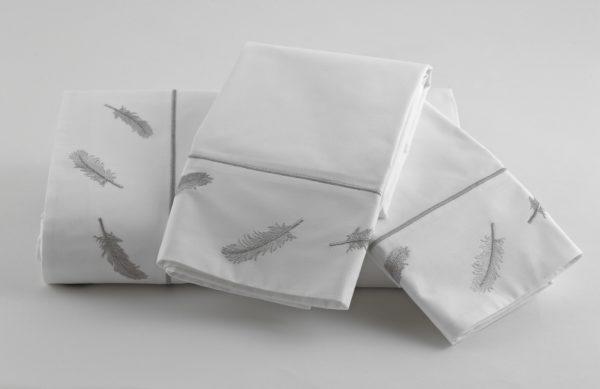 Bellini Sheets White Gray TL-8 (2)