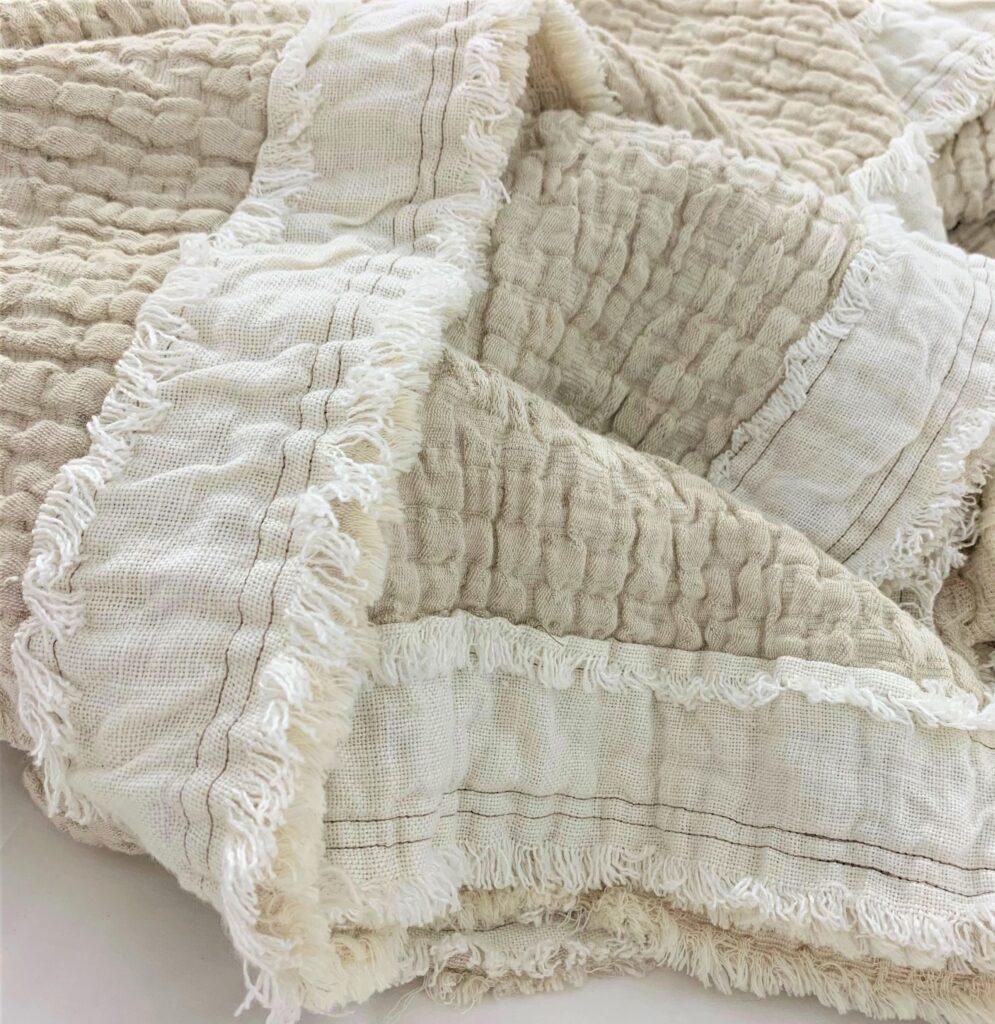 Hudson Linen Coverlet