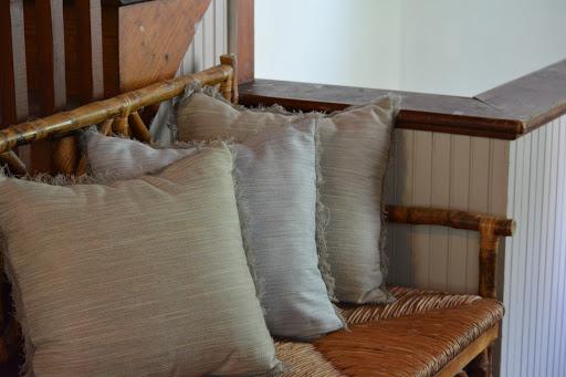 Tessie 18x18 Pillow with Eyelash Fringe