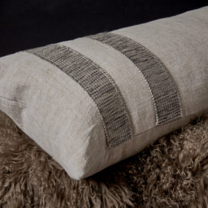 Dune Walk with Trim Pillow
