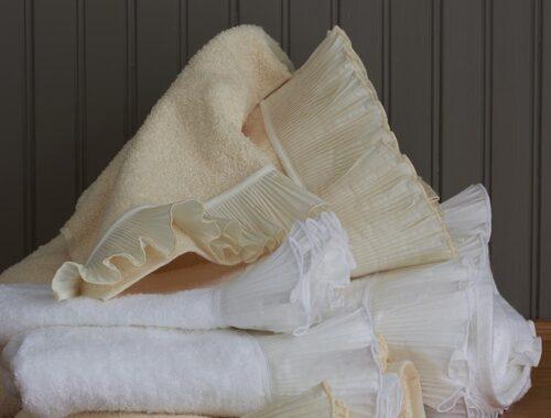 PLISSE TOWEL SET