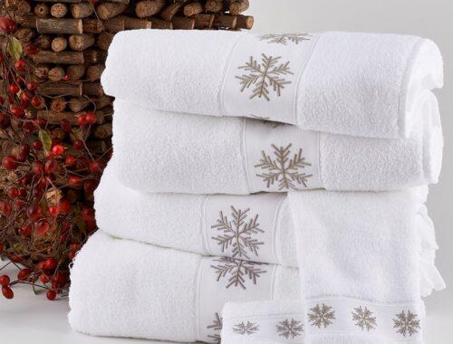 SNOWFLAKE TOWEL SET