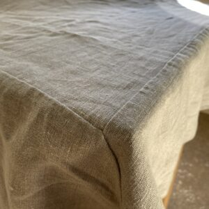 "Mitered Tablecloth 70"" x 144"" Tuscany"