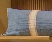 Nolan Blue Pillow
